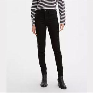 Levi's 720 Black High Rise Super Skinny Jeans   26